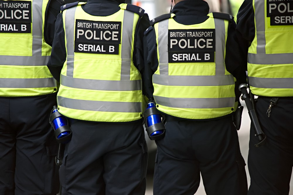 Football related arrests continue to rise on british - British transport police press office ...