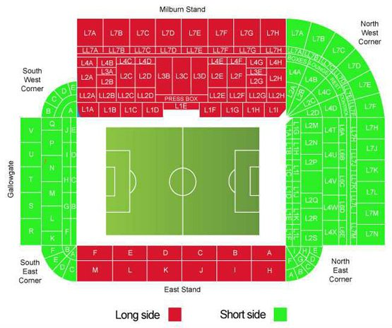 Newcastle United Vs Everton Tickets 31 Oct 2020 15 00 Ticketgum